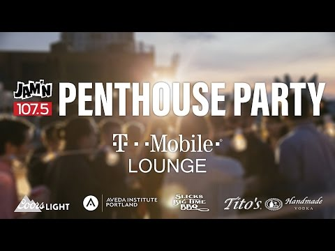 Penthouse Party in the T-Mobile Lounge