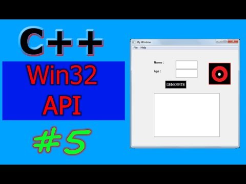 Windows GUI Programming with C/C++ ( Win32 API ) | Part -5 | Working with Images (Bitmaps)