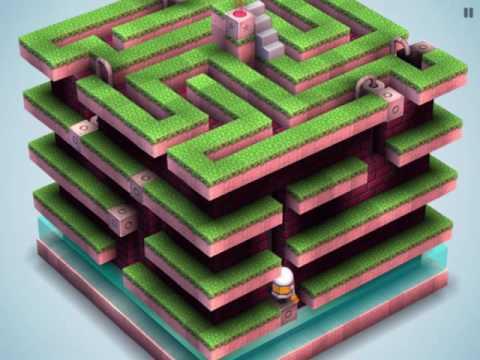 Mekorama walkthrough   Level 27 - A Maze In 3D