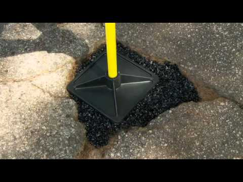how to use cold patch asphalt