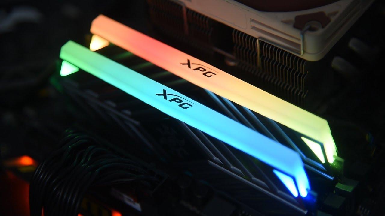 XPG SPECTRIX D41 DDR4 RGB Memory Module Review - YouTube