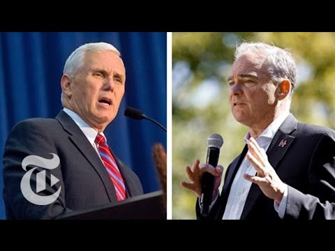 Full Vice Presidential Debate | Election 2016 | The New York Times