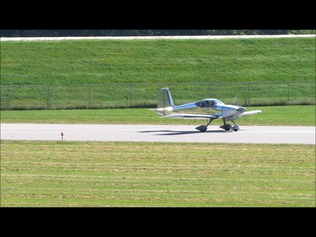 Vans RV-7 takeoff at William T. Piper Memorial Airport