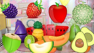 Fruit Names Compilation in Englishu0026Chinese-水果大集合(中英文)
