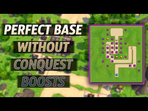 Royal Revolt 2 - Perfect Base Without Conquest Boosts!