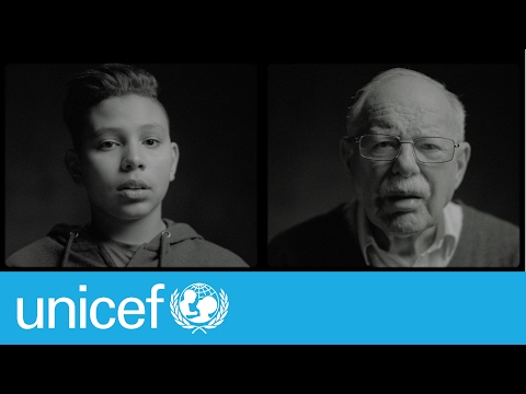 80 years apart, these two refugees have more in common than you'd think | UNICEF