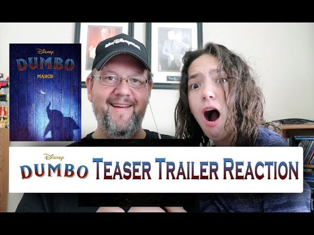 Dumbo Official Teaser Trailer Reaction Disney Live Action