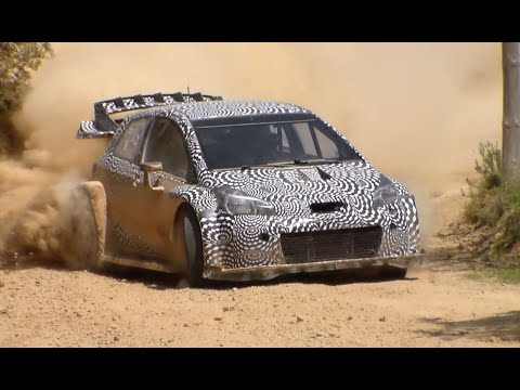 Test Toyota Yaris WRC 2017 | Juho Hänninen | Spain