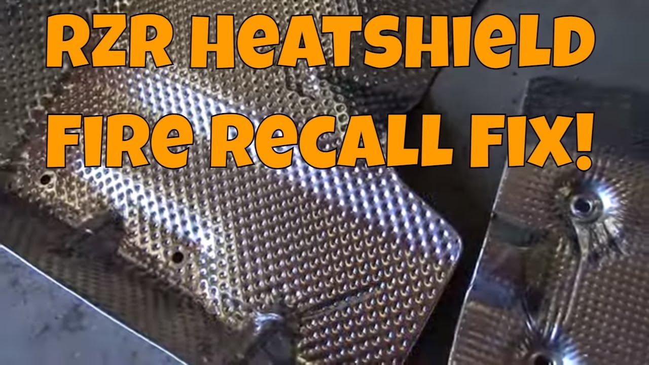 RZR S 1000 Recall Heatshields