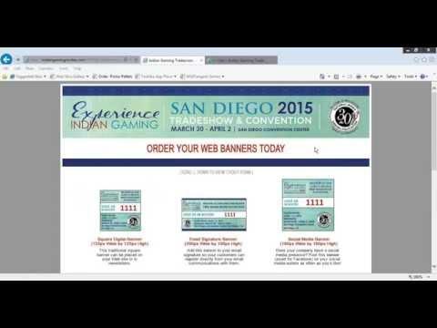 Indian Gaming 2015  Trade Show | Free  Marketing Webinar