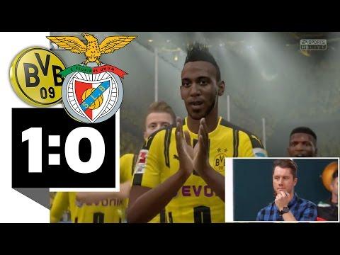 Borussia Dortmund setzt sich gegen Benfica Lissabon durch - BILD FIFA 17 Turnier