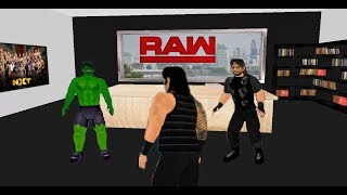 The Shield Calls Out Mysterious Man ft. Lesnar (Story/Concept) Part 2 - WRESTLING REVOLUTION 3D