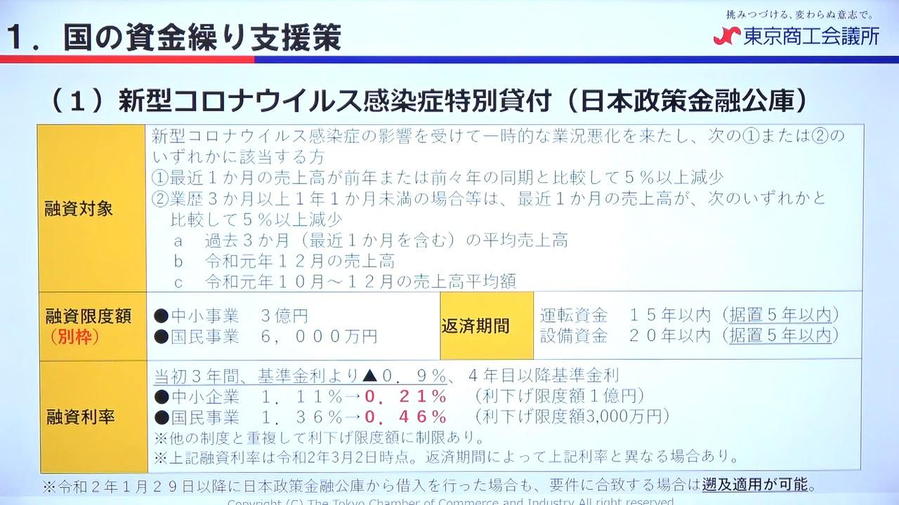 公庫 コロナ 審査 金融 融資 日本 政策