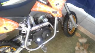dirt bike 70cc automatic 60km/h