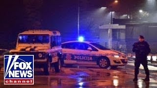 US Embassy in Montenegro attacked with grenade