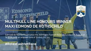 Multihull Line Honours Winner | Maxi Edmond De Rothschild