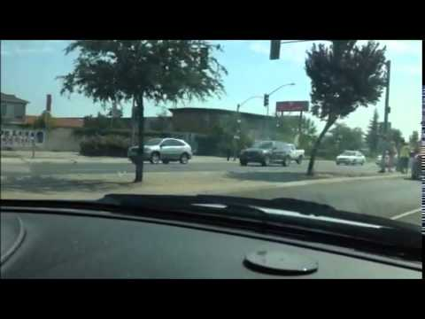 BAD Car Accident on Shaw Ave and Marks Ave in Fresno, CA - AaronTheEagle1  Video