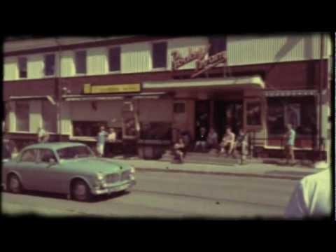 Edsbyn, Hälsingland, Summer of 1962.