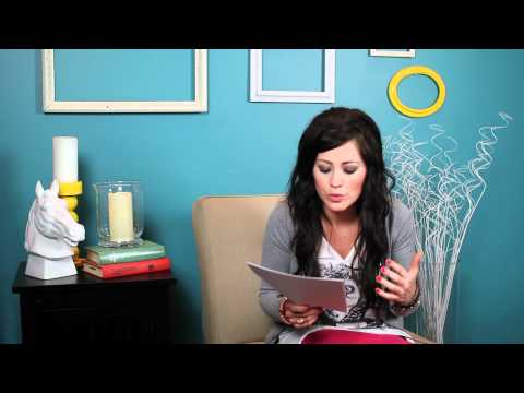 "Kari Jobe - ""Words of Encouragement"" Part 1"