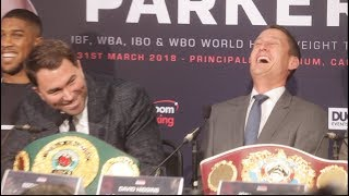 SILVER SPOON? I CAN SMELL LAST NIGHTS ACTIVITIES ON YOUR BREATH! - BANTER EDDIE HEARN & DAVE HIGGINS