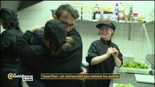 Insertion : un restaurant pas comme les autres - La Quotidienne la suite