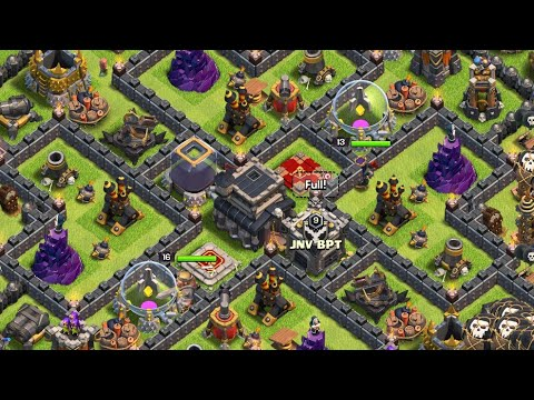 Town Hall 9 Base Farming| Clash Of Clan Base Making| Th9 COC Strategy Anti Lavaloons