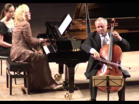 Chopin Cello Sonata (3rd mvt) - Antonio Meneses & Gülsin Onay