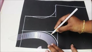 Perfect Armhole , Shoulder Slope & Neckline Pattern Making & Cutting (DIY)
