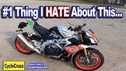 #1 Thing I HATE About My Aprilia Tuono V4 1100 Factory
