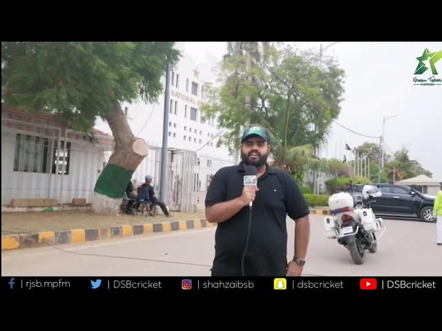 Update on Srilanka Series in Karachi