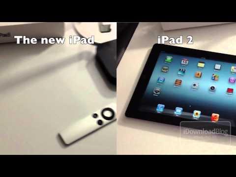 The new iPad (3rd Generation) vs. iPad 2 Video Quality
