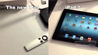 The new iPad (3rd Generation) vs. iPad 2 Video Quality