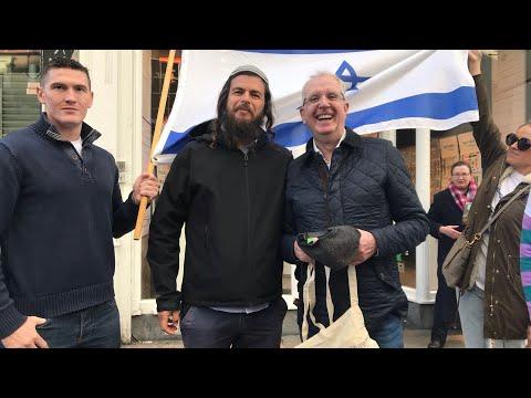 Israel Action Day On Dublin's Main Shopping Thoroughfare, Grafton Street
