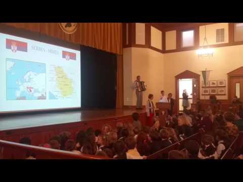 Marko Calvert school Serbian day