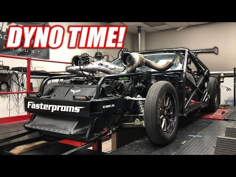 Leroy Hits the DYNO! Making HUGE Power at Holley Performance's HQ!