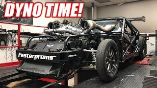 Leroy Hits the DYNO! Making HUGE Power at Holley Performance