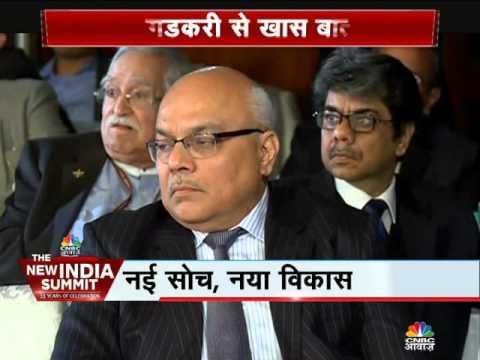 Cnbc Awaaz The New India Summit - Nitin Gadkari