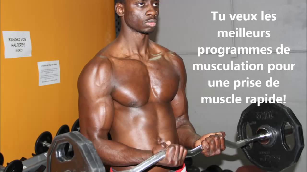 musculation prise de poids prise de masse rapide workout