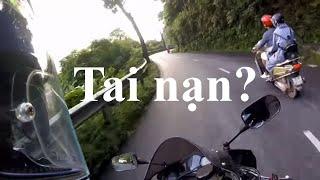 Cbr600 Đổ đèo Tam Đảo gặp tai nạn chết người | MotoVlog