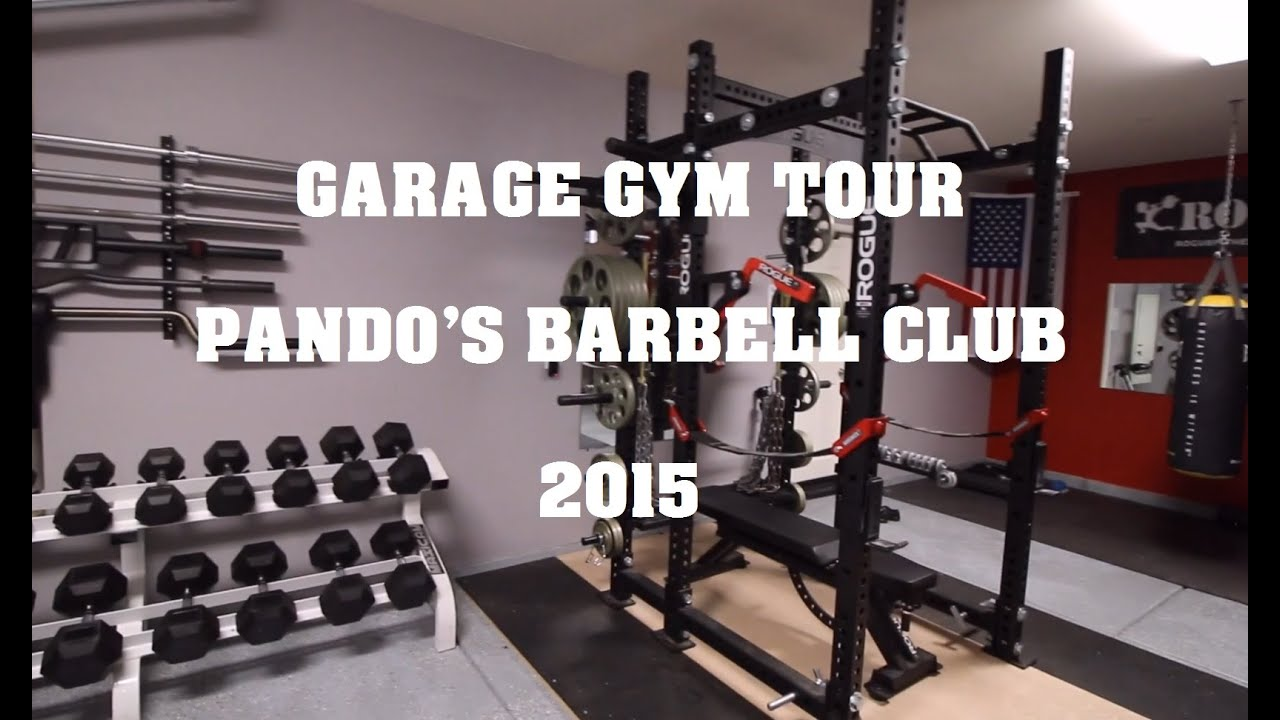 Garage gym tour pando s barbell club youtube