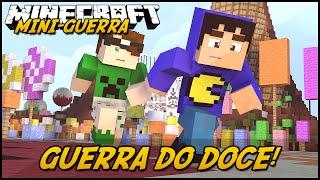 Minecraft: MINI-GUERRA - GUERRA DO DOCE! (CandyCraft Mod)