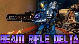halo 2 beam rifle delta   legendary weapon showcase   halo 5 guardians