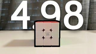 4.98 Fullstep 3x3 Single Reconstruction (4 Move XXcross?)