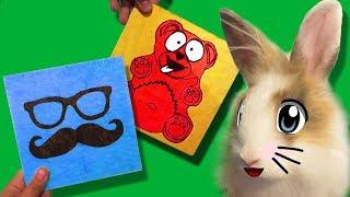 ВЫЖИГАЮ ЖЕЛЕЙНОГО МЕДВЕДЯ ВАЛЕРУ И ПОЗНАВАТЕЛЯ ! Funny Bunny зайчик милашка ЧЕРНЫЙ ДЕНЬ ВАЛЕРЫ