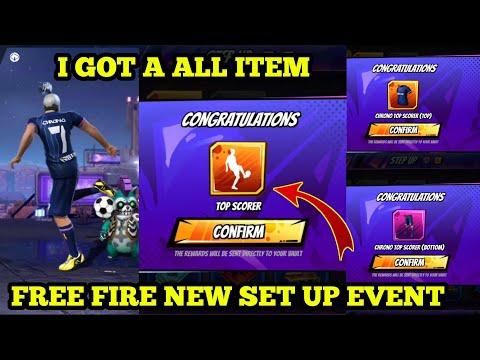 FREE FIRE NEW SET UP EVENT | I GOT A ALL RARE ITEM OF NEW EVENT |