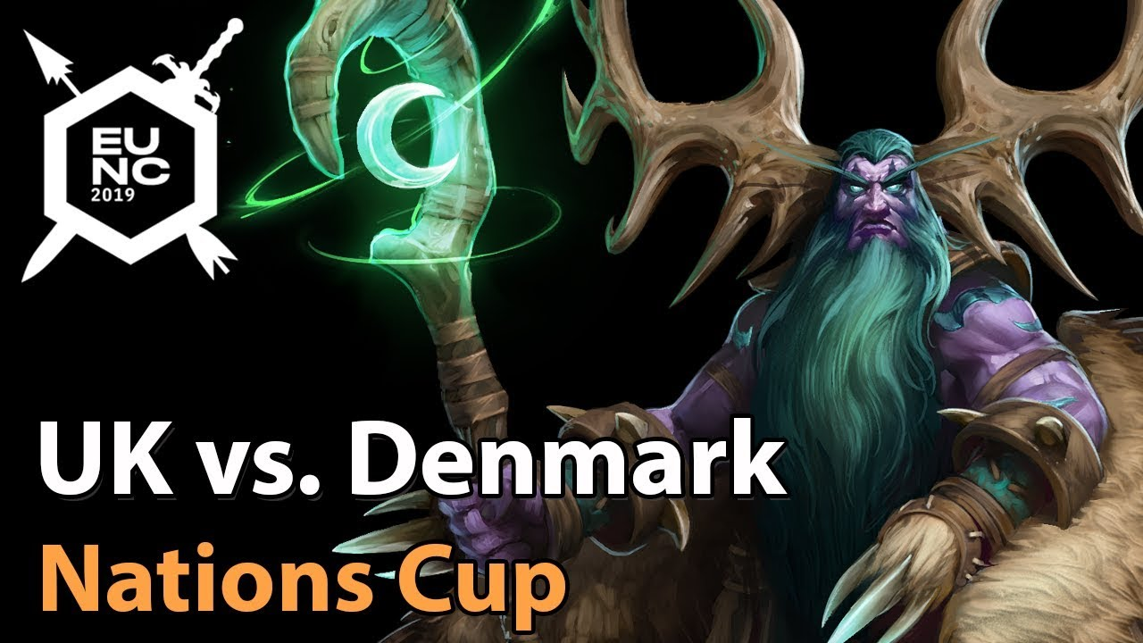 ► Denkmark vs. United Kingdom - Nations Cup - Heroes of the Storm Esports