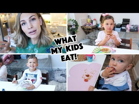 What My Kids Eat in A Day! thumbnail