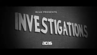 Carrying out investigations in the workplace