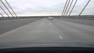 A Drive Across the John James Audubon Bridge