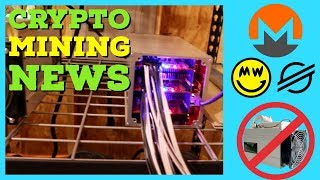Crypto Mining News | Monero Forks Off ASIC Miners (Again) | Coinbase XLM | Antminer B7 $10+ a day?